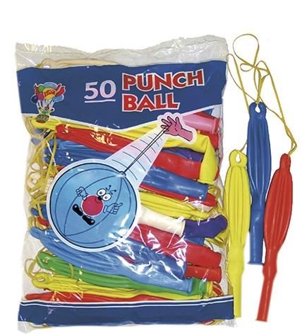 GLOBO PUNCH BALL 50 UNID